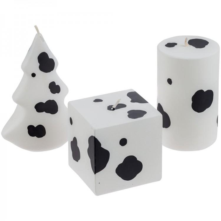 Свеча «Spotted Cow», цилиндр