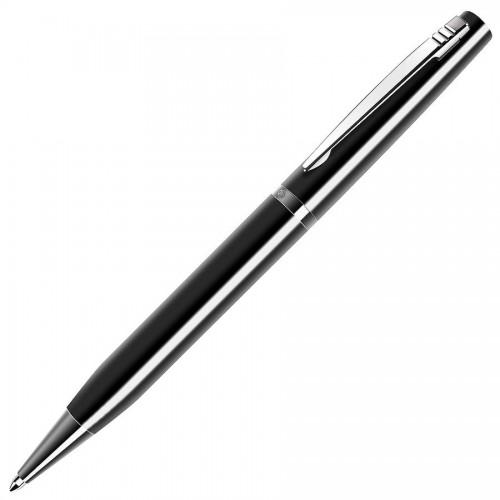 ELITE, ручка шариковая, чёрный/хром, черный, серебристый