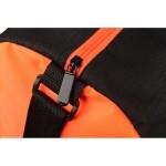 Сумка спортивная Master с цветными молниями, неоново-оранжевый