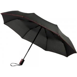 Автоматический складной зонт Stark-mini, красный